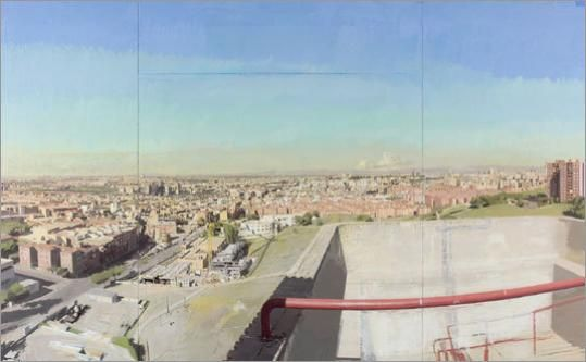 View of Madrid From the Vallecas Fire Tower, Antonio López Garcia