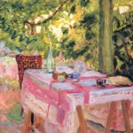 Pierre Bonnard, Table Set in a Garden, ca. 1980