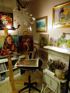 Emiliya Lane's studio.