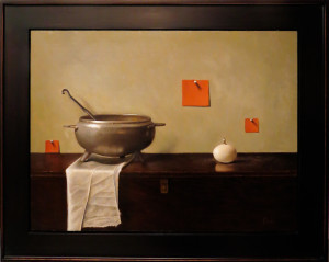 Sandra Power, Tureen with Orange Squares
