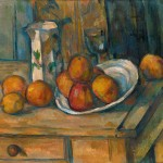 Paul Cézanne, Still Life with Milk Jug and Fruit, ca. 1900