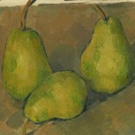 Paul Cézanne, Three Pears, 1878-79