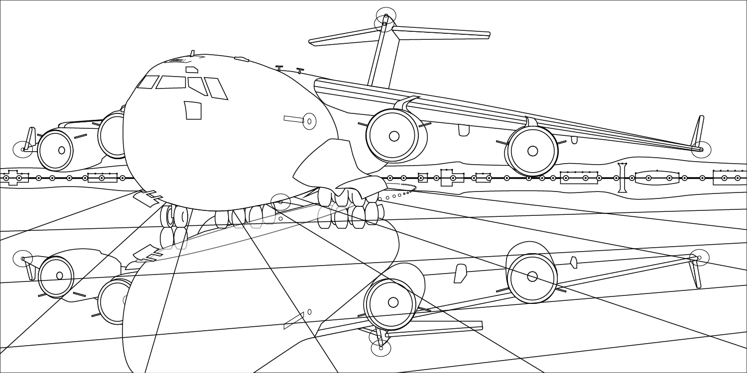 Line drawing rendered in Adobe Illustrator.