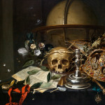 "Hendrick Andriessen, Vanitas Still Life, c. 1650, Oil on canvas, 25 1/8"" x 33 1/8"""