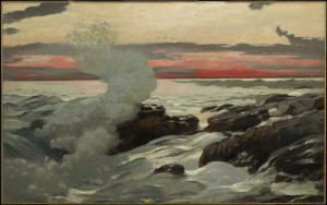 "Winslow Homer, West Point, Prout's Neck, 1900, Oil on canvas, 30 1/16"" x 48 1/8"""