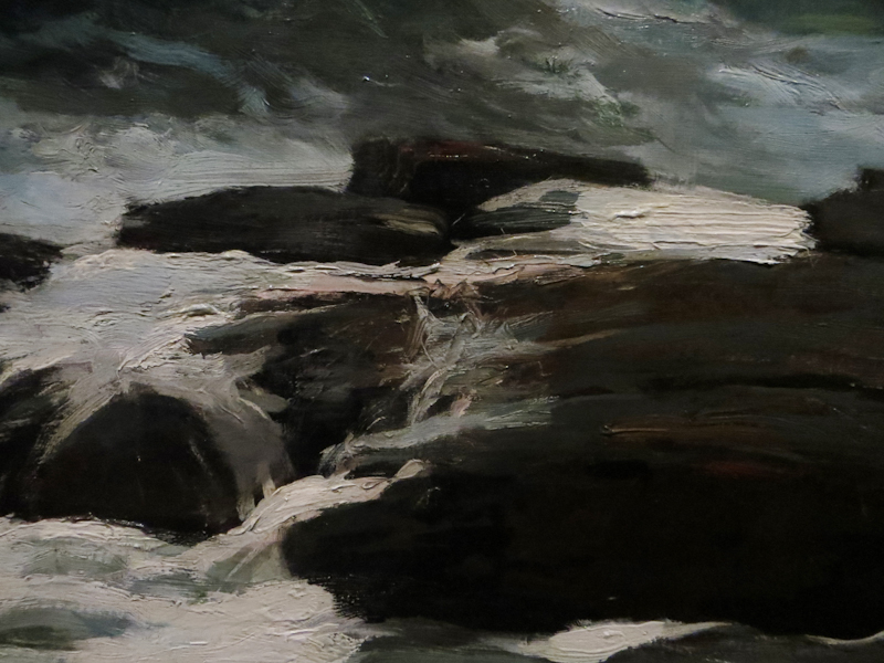 Closeup of Summer Squall by Winslow Homer