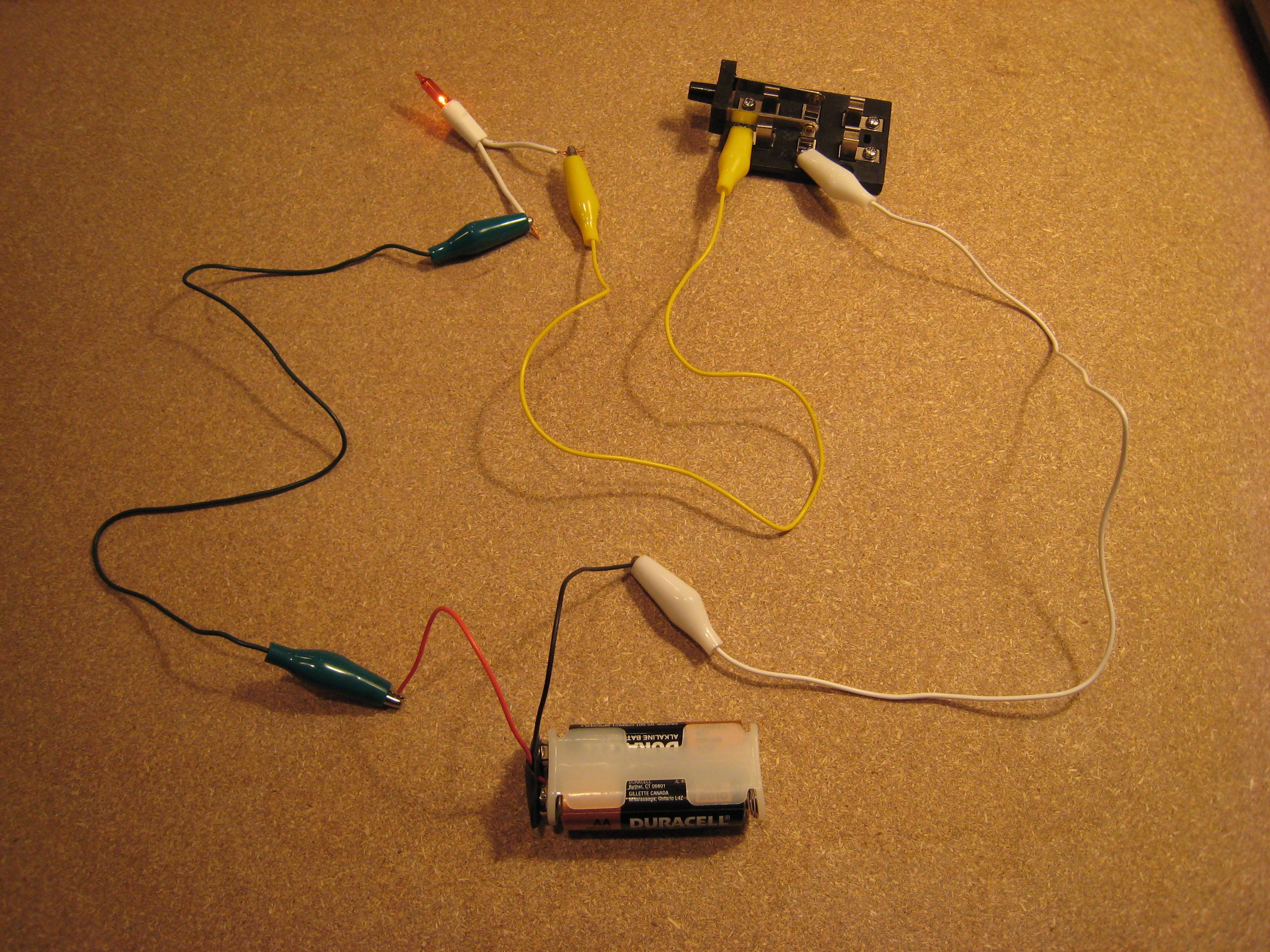 Building A Traffic Signal With Christmas Lights Michael Hopcroft Wiring Light Switch Diagram Variation 1 Basic